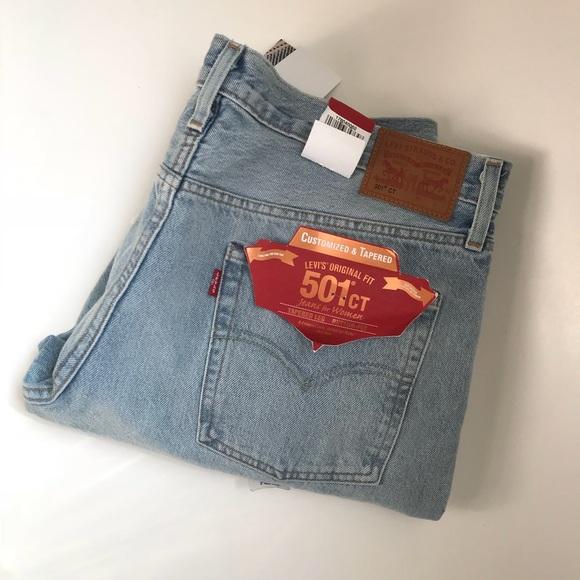 89866353 Levi's Jeans   Womens Levis 501 Ct Light Wash   Poshmark